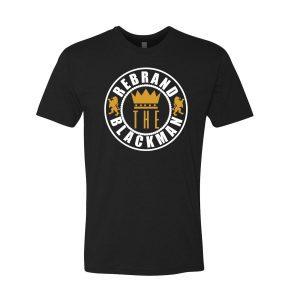 Rebrand The Black Man Tee (black)