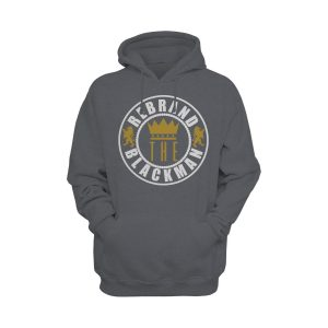 Rebrand The Black Man Hoodie (grey)