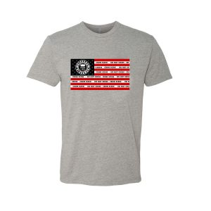 Rebrand The Black Man Crime Tape Tee (grey)