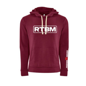 RTBM Hoodie (Maroon)