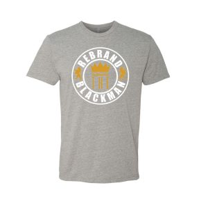 Rebrand The Black Man Tee (grey)